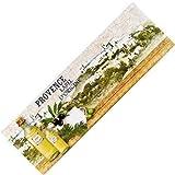 Teppich-Läufer Waschbar Rutschfest | Provence Oil Vintage Bunt 50x150 | Sauberlaufzone für Küche Flur | Schmutzfangmatte als Dekoartikel Küchendeko Küchenteppich Geschenk für Hobbykoch