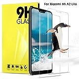 DOSNTO Glass Screen Protector for Xiaomi Mi A2 Lite