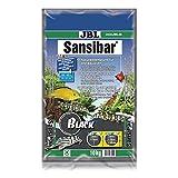 JBL Bodengrund Dunkel für Süßwasser Aquarien, Sansibar Dark 10 kg, 67051