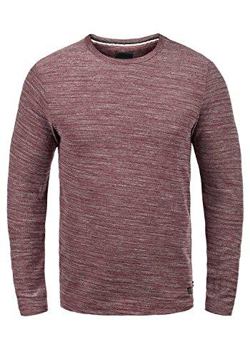 PRODUKT Pantaleon Herren Sweatshirt Pullover Sweater mit Rundhals-Ausschnitt aus hochwertiger 100% Baumwolle Meliert Port Royal