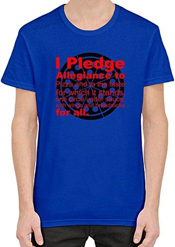 i-pledge-allegiiance-to-pizza-and-to-taste-slogan-t-shirt-per-uomini-xx-large