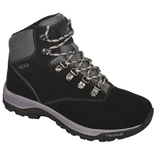 Trespass Novelo, Chaussures Multisport Outdoor Homme Noir (Black)