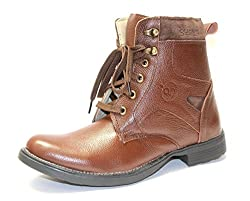 Guava Stylish Brown leather Boot