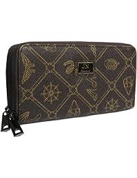 329a68baee7e7 Portemonnaie Geldbörse Damen elegantes Muster A1125 beige braun Damen -Accessoires