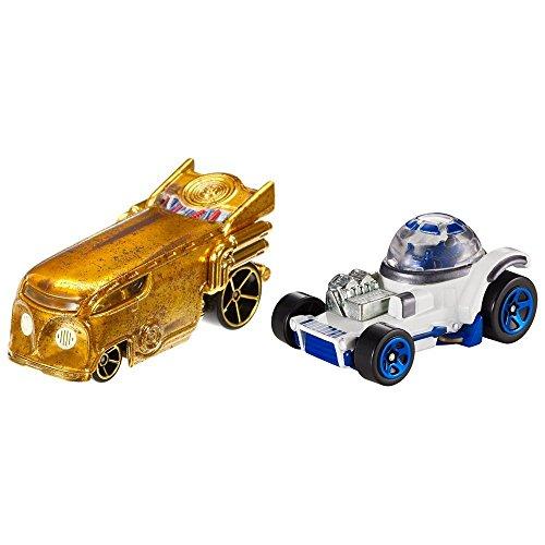 Hot Wheels-Pack Autos Star Wars R2-D2 Miscelanea (R2d2 Hotwheel)