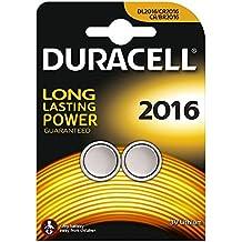 Duracell - Pila especial para dispositivos electrónicos - 2016 Blister Grande x 2