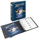 Lindner PUBLICA M Vordruckalbum 20 Euro-Silbermünzen Deutschland 3536M, Ringbinder im 20 Euro-Design inkl. Multi Collect-Münzblatt