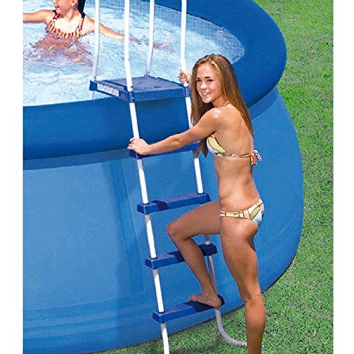 Intex Einstiegsleiter für Pools bis 132 cm Höhe, Mehrfarbig