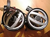 Peg Perego doppia ruota posteriore nero Switch grigio solo per Peg Perego