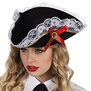Boland 81928 Adulto Sombrero Pirata Stacey, One Size