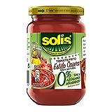 SOLIS Tomate Frito Estilo Casero 0% Sal y Azúcares Añadidos Frasco Cristal - Tomate sin gluten - 350 g - Pack de 6