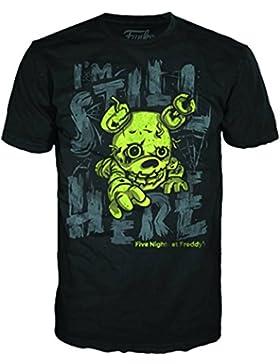 Funko POP. Tees cinco noches en Freddy de la primavera trampa–Camiseta para niños