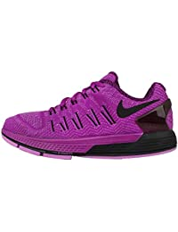 Nike Women's Wmns Air Zoom Odyssey, VIVID PURPLE/BLACK-FUCHSIA GLOW-BLACK, 6 M US