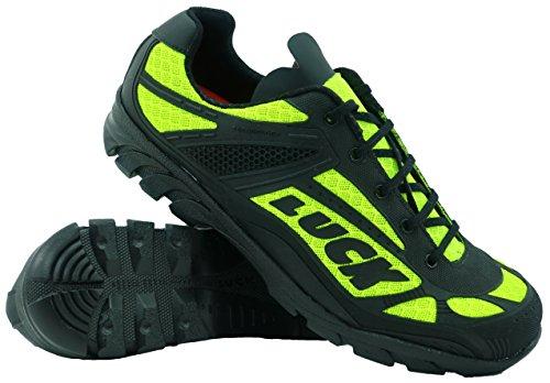 LUCK Zapatillas de Ciclismo Predator 18.0,con Suela de EVA Ideal para Poder adaptarte a Cualquier Terreno y disciplina Deportiva. (41 EU, Amarillo)
