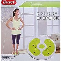 Liyset - Masaje de pies Redondo giratorio figura de ejercicio de Cintura Twister Trimmer Magnético Cuerpo