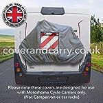 Coverandcarry-Copertura-per-portabici-da-camper-di-qualit-con-una-tasca-per-segnale-stradale-copre-2-3-biciclette