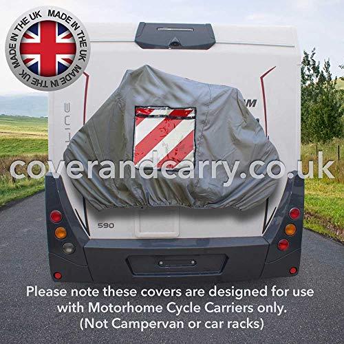 Wohnmobil-Fahrradhaltungs-Abdeckung, für 2–3Fahrräder, Deluxe-Qualität mit Schild-Tasche
