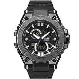 Adisaer Armbanduhr Herren Wasserdicht Wasserdicht Militärisch Herrenuhr Nightlight Multifunktional Nude Outdoor Sportuhr Armbanduhr Automatikuhr