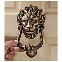 Design Toscano 10 Downing Street Lion Authentic Foundry Door Knocker by Design Toscano