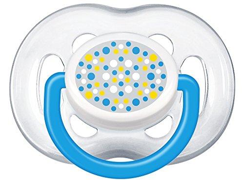 Philips Avent SCF180/27 - Pack de 2 chupetes ventilados decorados para niño de 6-18 meses