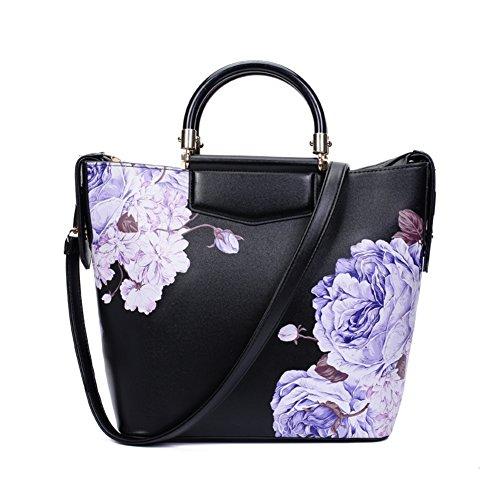 Stile cinese pittura Magnolia/Borsa grande/Peonia stampa moda borsa-C C