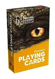 Brain Box - Natural History Museum, Juego de Cartas con Dinosaurios, en inglés (70002)