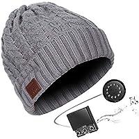 BLACK ELL Sombrero inalámbrico para Auriculares Bluetooth, música estéreo Smart Cap BT4.2 Deporte al Aire Libre, 11