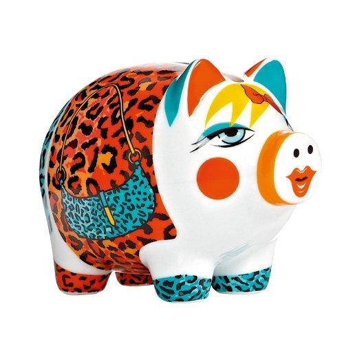 RITZENHOFF Sparschwein - klein Angela Ladeiro 2012 Piggy Bank/Sammlerstück / Porzellan/Spardose