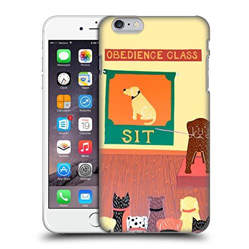 Head Case Designs Offizielle Stephen Huneck Lehrer-Schokolade Hund-Gruppe Ruckseite Hülle für iPhone 6 Plus/iPhone 6s Plus