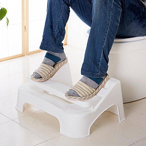 HYP-Ergonomische Toilettenhocker Toilettenhocker ErwachseneWc-sitz Hocker höhenverstellbar WC-Sitz Pad Bank bad Treppe Hocker