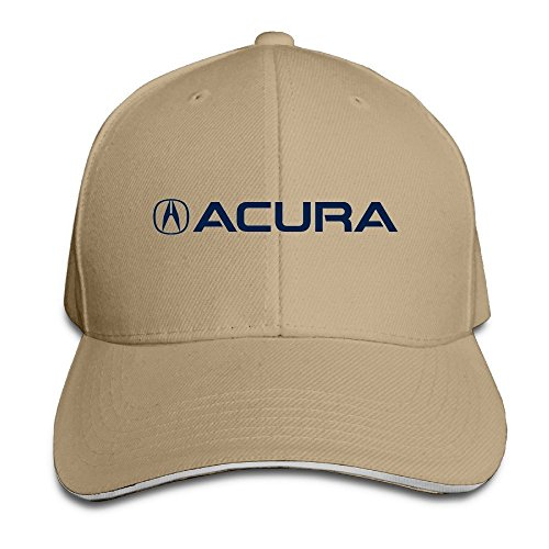 xcarmen-runy-acura-logo-adjustable-hunting-peak-sandwich-hat-cap-natural