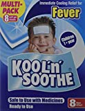 Kool 'N' Soothe Cooling Strip Sachets Kids Multipack 8