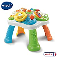 Vtech Baby 80-181575 Activity Table and Large Early Learning CENTRES - Multi-Coloured