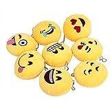 Alcoa Prime 8pcs Mini 10cm Emoji cushion...
