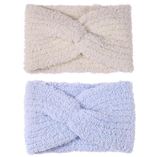 VIPEco Winter Women Cross Warm Knitted Turban Wrap Headwear Ear Warmer Headband