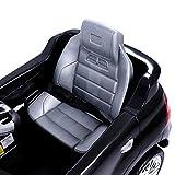 Mercedes-Benz ML Kinder Auto Elektroauto Kinderauto Elektrofahrzeug Kinderfahrzeug mit 2 Motoren MP3 Fernbedienung. Farbe: Schwarz Test