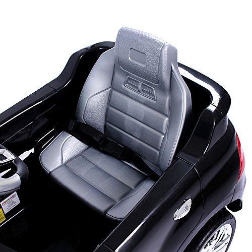 RC Auto kaufen Kinderauto Bild 4: Mercedes-Benz ML Kinder Auto Elektroauto Kinderauto Elektrofahrzeug Kinderfahrzeug mit 2 Motoren MP3 Fernbedienung. Farbe: Schwarz*