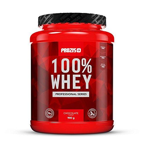 Prozis 100% Whey Professional – Erdbreere, 900 g