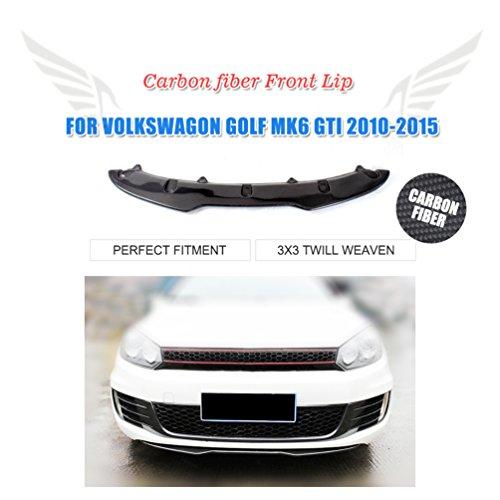 Karbonfaser vorne Lippe Spoiler Schürze für Golf 6 VI MK6 GTI 2010 2011 2012 2013