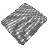 Sugarapple Wickelauflagenbezug Grau Punkte weiß aus 100% Baumwolle für Wickelauflagen 85 x 75 cm, Öko-Tex Standard 100, Hergestellt in Deutschland
