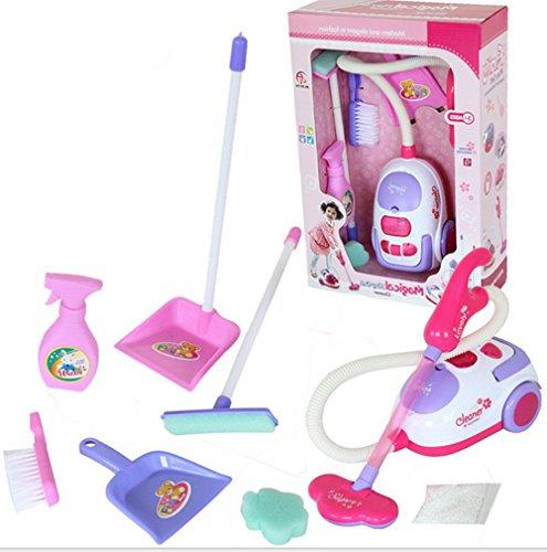 Hollwald Spiel automatische Staubsauger Kunststoff Spiele Nachahmung Spielzeug für junge und Mädchen pädagogische 3 Jahre mindestens