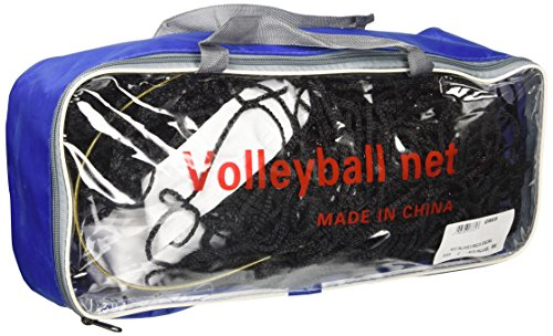 GIMER 10/520Redes Voleibol, Negro, talla única