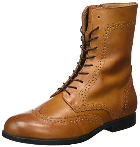 BIRKENSTOCK Damen Laramie Combat Boots, Braun (Camel), 41 EU