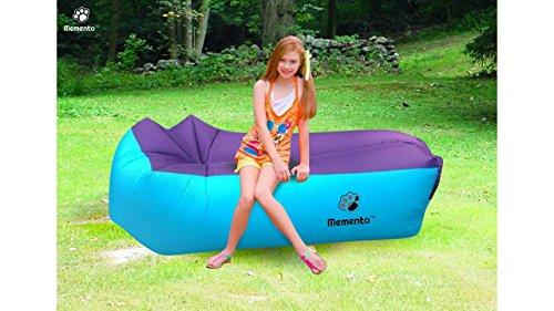 mementotm Original 2nd Generation Air-Liege, aufblasbare Couch/Bett Perfekte zum Entspannen am Strand, Pool, Camping & und den meisten geeignet Innen, während TV. - 3