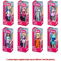 "Mega Bloks Barbie Mini Figure Small Display Character (Colors/estilo Vary) – 1 Character Will Be ""Received"