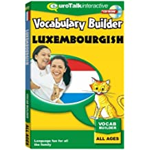 Vocabulary Builder Luxembourgish : Language fun for all the family - All Ages [import anglais]