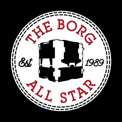 Star Trek The Borg All Star Converse Logo Women's T-Shirt Black