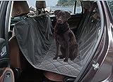 Voiture Couvre Siège de couverture pour chien, microfibre, étanche, antidérapant, doux et chaud pour chien Gris foncé