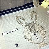 Yanshan 145 x 195 cm Dekoration Hausgemachte Cartton Tier Kinderzimmer Teppich Fox-Baby-Spiel-Matte...