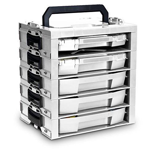 Preisvergleich Produktbild Bosch Sortimo i-rack 5Pläne geliefert/1l-boxx Mini inkl. 1kg HARIBO